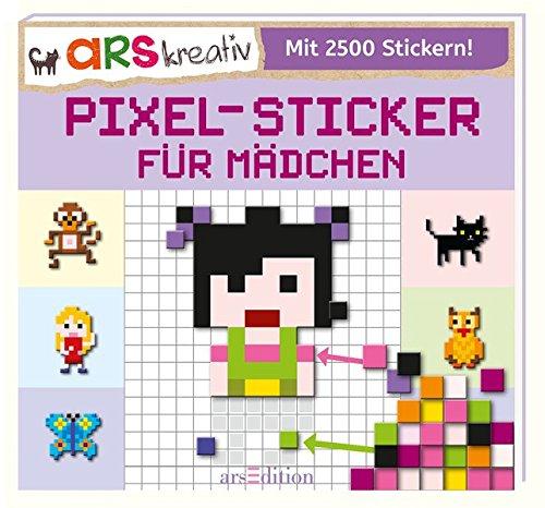 Preisvergleich Produktbild Pixel-Sticker für Mädchen