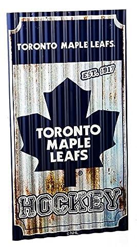 Toronto Maple Leafs Wellpappe Metall Art Wand