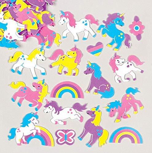 Baker Ross Etiquetas engomadas Espuma Unicornio Arco