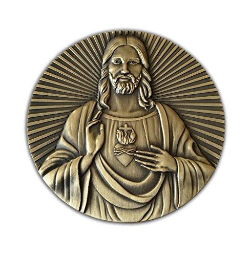 Eillwin Jezus Christus & letzte Abendmahl Big 3D Metall zum Sammeln Christian Coin