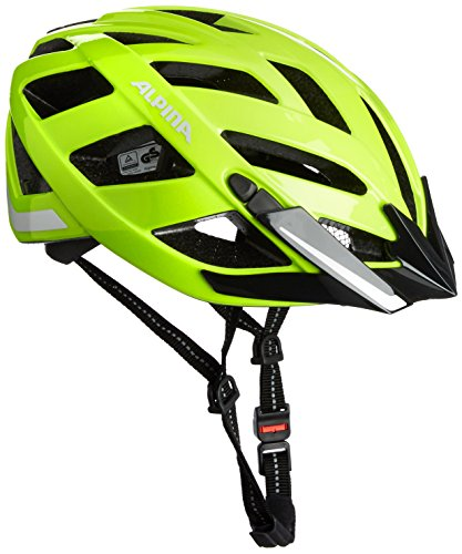 ALPINA Radhelm Panoma City Fahrradhelm, Be Visible Reflective, 56-59 cm