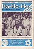 Ha-Ho-He Hertha BSC-Information Nr. 8 - September 1977