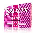 New Srixon Lady Soft Feel Passion Pink Golf Balls - 1 Dozen