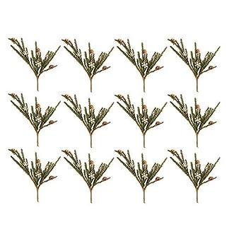 Honey-In-Me-Knstliche-Weihnachts-Plektren-mit-Schneeflocken-Ausschnitt-305-cm-12-Stck
