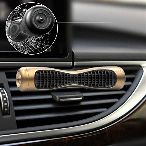 TuKnon Auto Lufterfrischer Clip,Aromatherapy Luftreiniger,Auto Parfüm Sicherheit Hammer,Auto Parfüm Fahrzeug Luftreiniger,Rauch Geruch Eliminator für Auto Fahrzeug,Haus und Haustier Zimmer