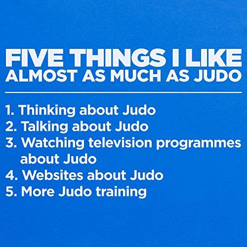 Five Things I Like - Judo T-Shirt Funny Novelty Gift, Herren Royalblau