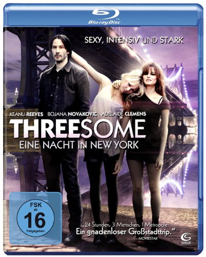 Threesome - Eine Nacht in New York (mit Keanu Reeves) [Blu-ray]