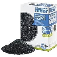 Hydor High Quality Activated Carbon Freshwater 3x100 gr - Carbone attivato di alta qualità, materiale filtrante per acquari di acqua dolce