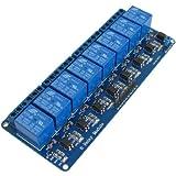 SODIAL(R) 5V Module de relais electronique a bouclier de 8 canaux pour 51 AVR ARM Logique