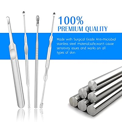 Stainless Steel Ear Cure Earwax Remover Tool