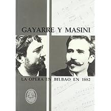 Gayarre Y Masini - La Opera En Bilbao En 1882 (Bilbainos Recuperados)