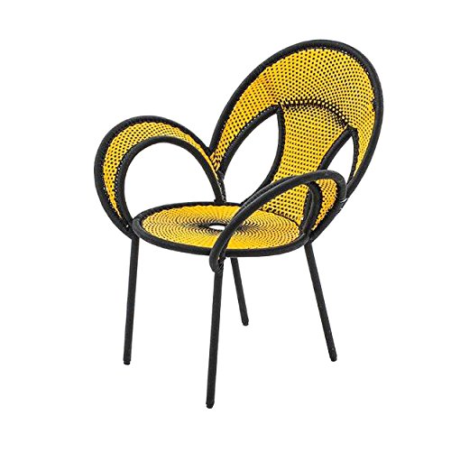 Banjooli Armlehnstuhl gelb/schwarz