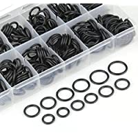 300piezas de goma O sellos de anillo junta tórica arandela surtido negro Auto Fix Kit de accesorios