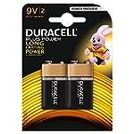 Duracell MN1604 Plus Power 9v Batteri...