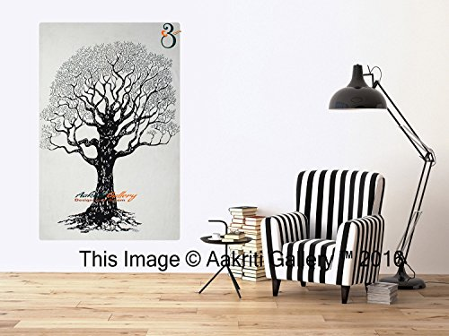 tapestry-single-black-and-white-dry-tree-wall-hanging-art-decor-mandala-hippie-dorm-84x55-inches-aak