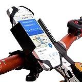 AKTIIV Handyhalterung für Fahrrad/Motorrad | Extra stabil aus Metall |Version 2017| Universal 360 ° Verstellbarer Hand