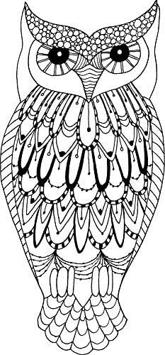 Lindsay Mason Designs LM Grande Chouette prêt prêt prêt Tampon Transparent B00URNT04C 46b302