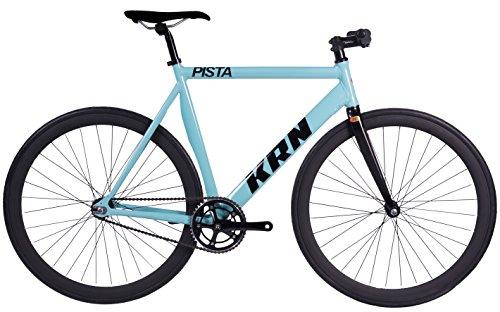 Bicicleta Fixie Aluminio / Carbono KRN Pista...