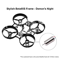 Beta65S 65mm Whoop Frame Kit Evil Freestyle Frame Canopy 31mm 3-blade Props 4-blade Props for 7x16mm Motors like Eachine E011 Tiny Whoop Drone