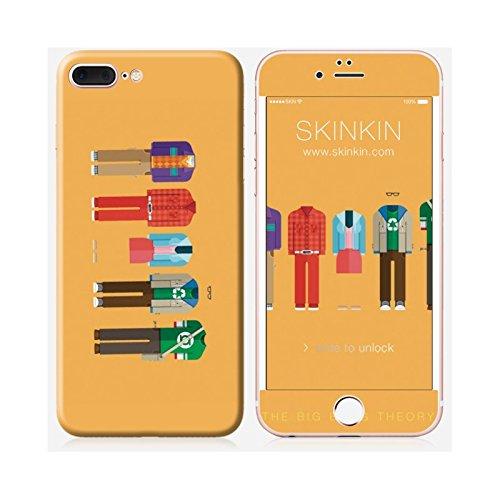 Iphone sticker 7 skinkin original design big bang theory by frederico birchal