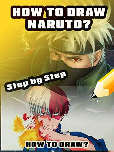 Learn to draw Naruto step by step eBook: Helmet Gimmy