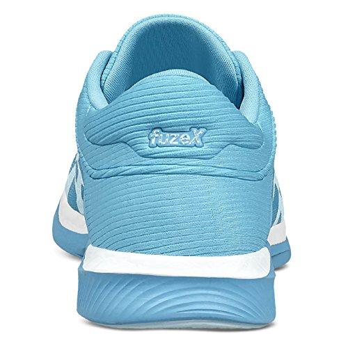Asics Fuzex Rush, Chaussures de Course pour Entraînement sur Route Femme bleu/blanc