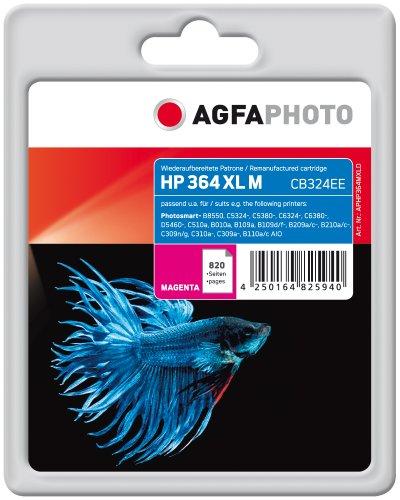 Preisvergleich Produktbild AgfaPhoto APHP364MXLD Tinte für HP PSCD5460 mit Chip, 11 ml, magenta