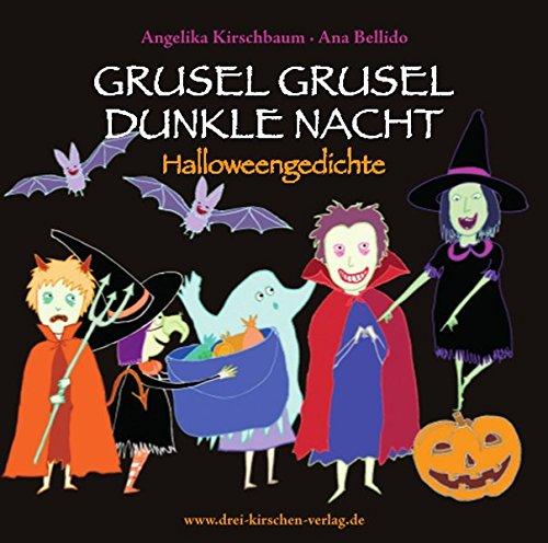 GRUSEL GRUSEL DUNKLE NACHT - SPOOKY SPOOKY SCARY NIGHT  Hörbuch: Halloweengedichte - Halloween Poems