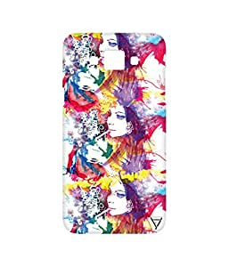 Vogueshell Swagy Girl Printed Symmetry PRO Series Hard Back Case for Samsung Galaxy Grand Max