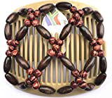 African Butterfly Haar Clip 100211cm braun Kamm