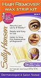 Sally Hansen Hair Remover Wax Strip Kit ...