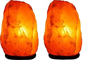 Needs & Gifts 2-3 kg Prime quality 100% Original Himalayan Crystal Rock Salt Lamp Natural from foothills of the Himalayas Beautifully Hand Craft Comes with Complete Electric fitting by Needs & Gifts