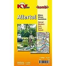 Allertal / Winsen Wietze Hambühren: 1:12.500 Gemeindepläne mit Freizeitkarte 1:30.000 inkl. Radroutenund Wanderwege (KVplan-Kombi-Reihe / http://www.kv-plan.de/reihen.html)