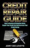 Credit Repair Guide: How To Remove All Negative Items, Repair Your Credit Fast And Increase Your Credit Rating
