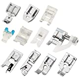 SYGA Domestic Sewing Foot Presser Foot Set Sewing Machines (11 PCS)