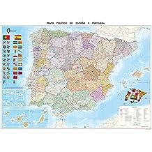 Mapa Político De España (70X100)