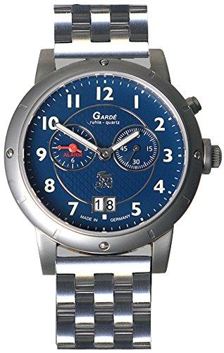 Garde Uhren aus Ruhla Herrenuhr mit Alarm DIXI Limitiert 32-32M
