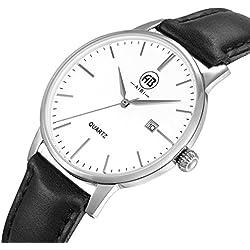 AIBI Women's Waterproof Ultra-thin Case Analogue Quartz Wrist watch