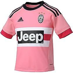 adidas Juve A JSY Y - Camiseta para hombre, color rosa / fucsia / negro / blanco, talla 140
