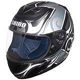 Shiro SH996 Symbol II Gr. L Weiss-schwarz-silber * Intgralhelm * Motorrad * Roller * Quad *