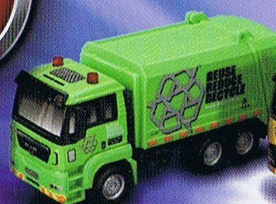 City Truck - Recycling Collection Vehicle Scaled Model