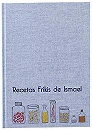 Recetario en blanco personalizado con tu nombre o frase 15x21   Libro de recetas de cocina para escribir tapa