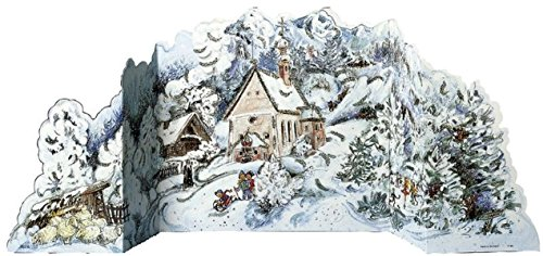 Winterwald - Adventskalender aufstellbar