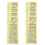 Alaman Gitarrenhals Aufkleber, Gitarre Griffbrett 24 Stickers X 2 PCS