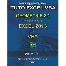 Gometrie 2D Excel 2013 Vba