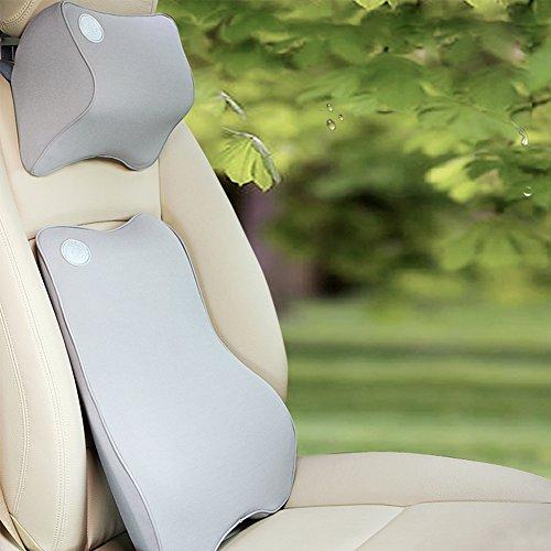 Premium Memory Foam auto lombare del cuscino e guanciale cervicale per l'ufficio di guida della (Mantenere Pressione Sanguigna)