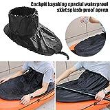 dream-cool Cabina - Estilo Faldas Impermeables Especiales para Kayaks, antirreflejos, Universal Cubierta de protección Solar Accesorios para Kayak Accesorios para Faldas