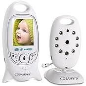 Babyphone mit Kamera Baby Überwachung Digital dual Audio Funktion wireless Ba...