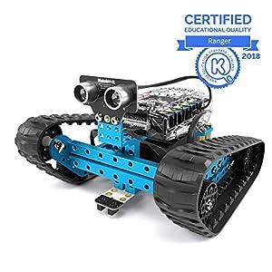 Makeblock mBot Ranger, Robot Giocattoli, Robot Bambino Educativo 3-in-1, Tre Moduli, Versione Bluetooth, Blu, Steam… LEGO