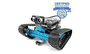 Makeblock mBot Ranger, kit robotique programmable pour Coder, Kit de Robot éducatif 3 en 1, Trois formulaires, Version Bluetooth, Bleu, Steam Education, Cadeau pour Les Enfants